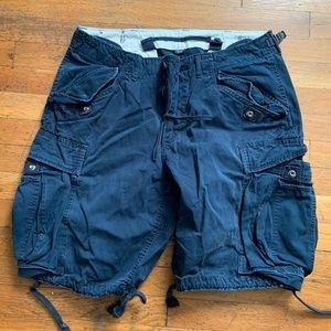 Ralph Lauren Navy cargo shorts size 34
